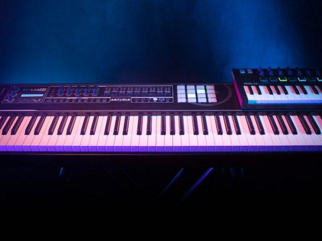 MiniLab MKII BK/KeyLab 88 BKの発売が決定いたしました。