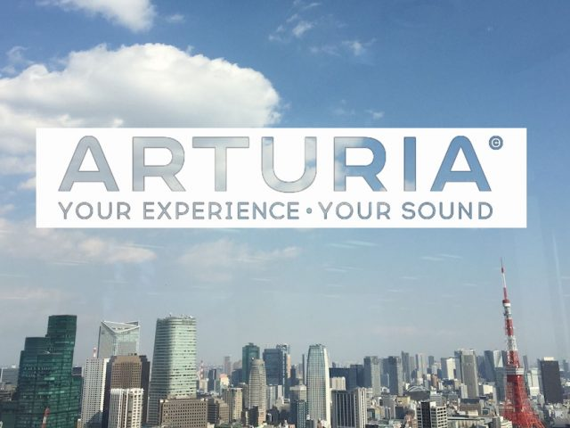 「Arturia公式ユーザーグループイベント東京 Volume. 1」開催決定!!