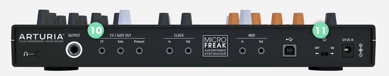 Micro Freak-back