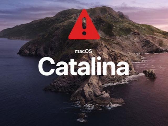 macOS Catalinaリリースに伴う製品対応について