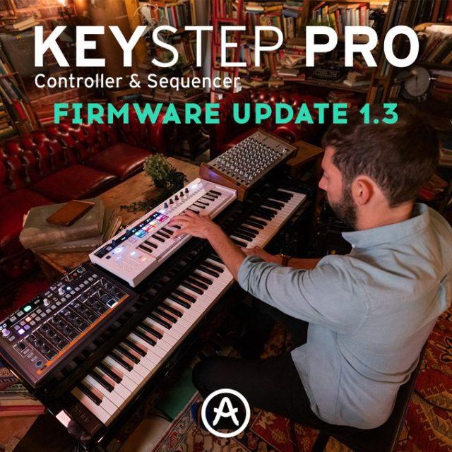 KeyStep Proファームウェアver1.3公開