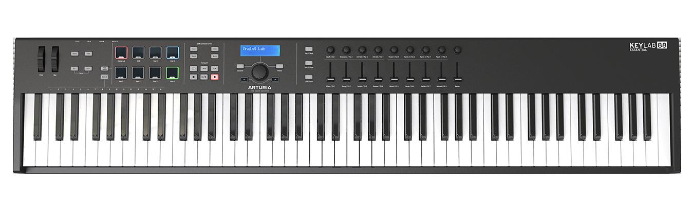 KeyLab Essential 88 Black Edition